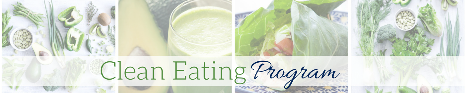 Clean Eating Program - Optin Header Image