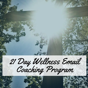 21 Day wellness Email Coaching Program
