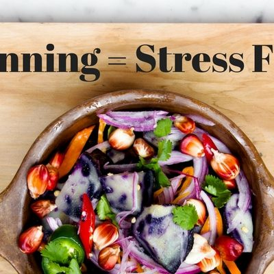 meal planning easy and stress free