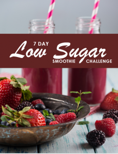 7 DAY LOW SUGAR SMOOTHIE CHALLENGE 2D OPT IN FREEBIE
