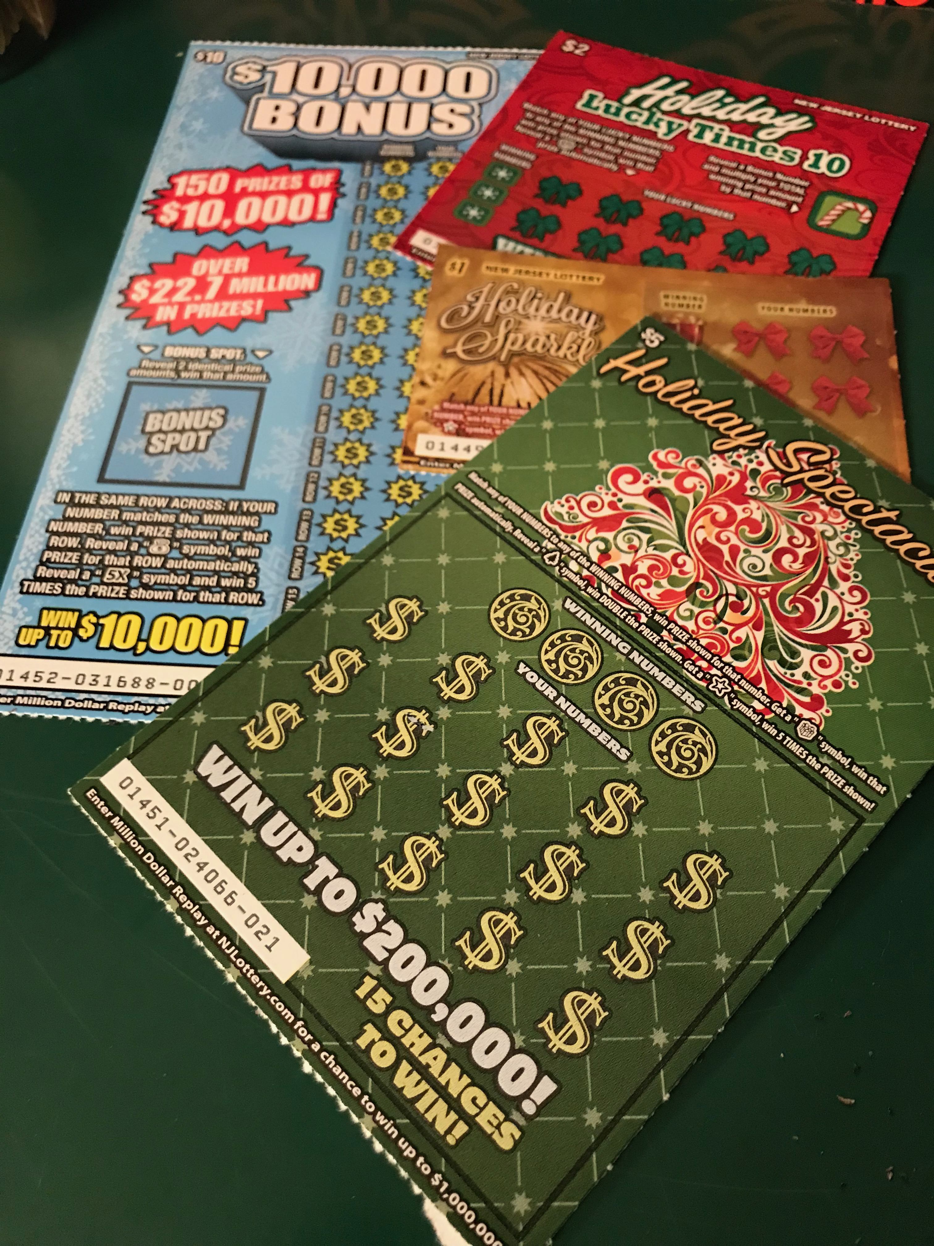 Lotto tickets are the perfect gift!